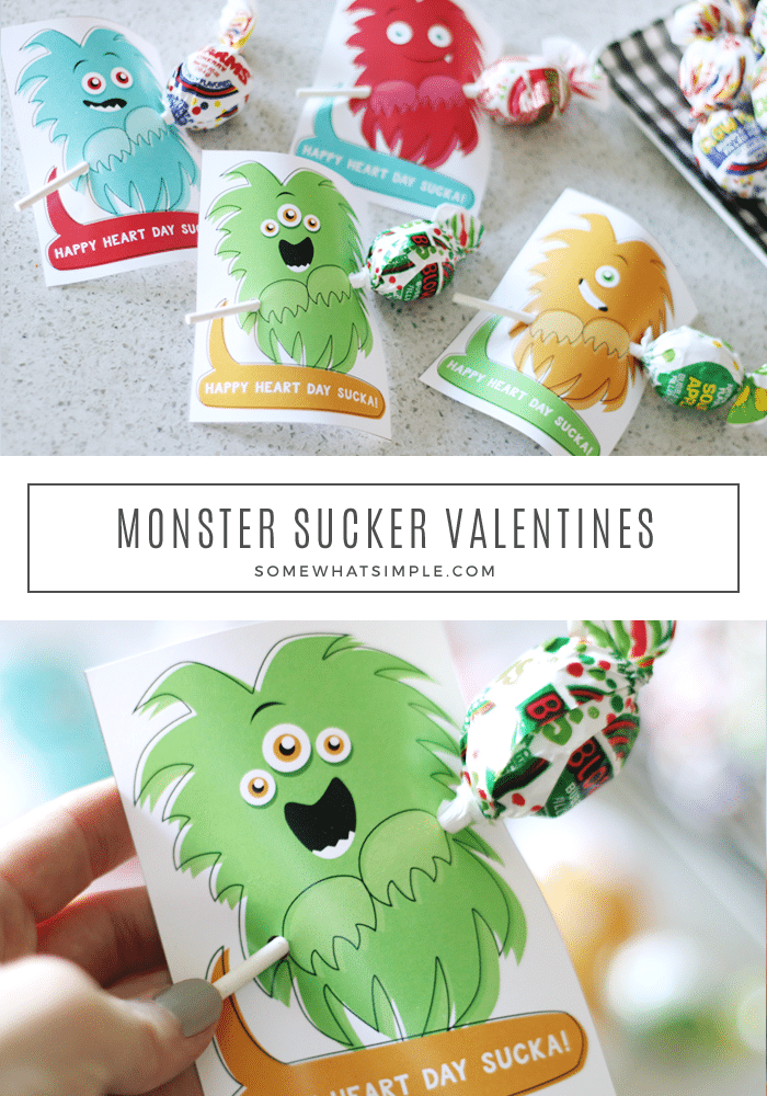 Printable Valentine cards that are perfect for little ones who prefer to leave the hearts and roses out of Valentine's Day! #PrintableValentine #BoysValentine #ValentineCards via @somewhatsimple