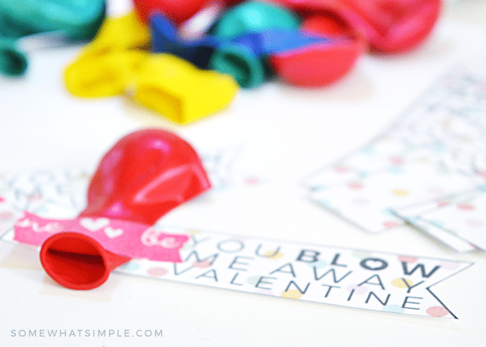 stress free valentines kids school class teachers last minute balloons easy simple cheap budget fast tags cards
