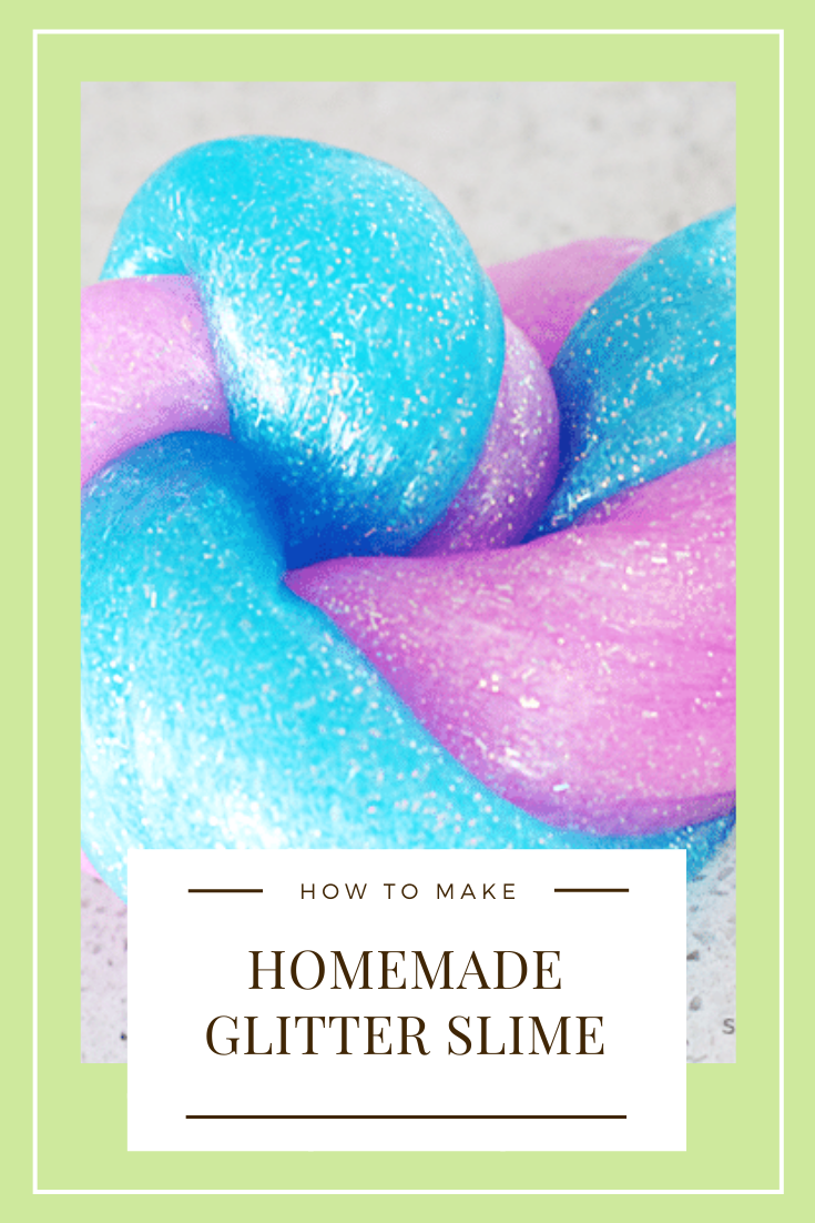 Three ingredients, no cleaning chemicals, and no food coloring! Here is how to make slime that is safe for kids and a ton of fun!!! #slime #slimerecipe #easyslimerecipe #slimevideo #howtomakeslime #glitterslime via @somewhatsimple