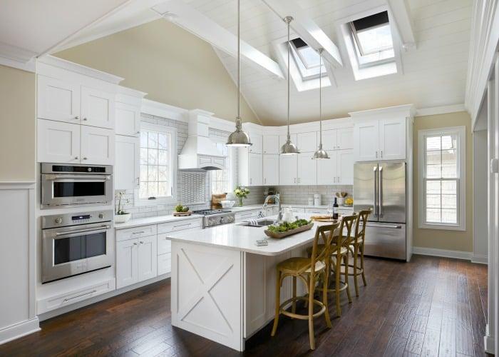 Skylights in Kitchen