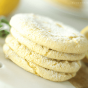 lemon cake mix cookies 3 ingredients cool whip simple easy quick dessert