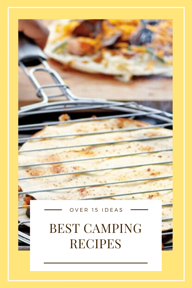 Take your camping game to the next level with our EASY camping food ideas! From breakfast to dinner to desserts, we have you covered. Your next camping trip is going to be filled with AMAZING food! With over 15 recipe ideas, you're guaranteed to find something you like! #campingfood #easycampingmeals #campingfoodideas #campingdinnerrecipeideas #bestcampingfood via @somewhatsimple