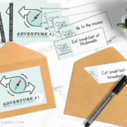 all of the printables that come in this pack to make your own thoughtful gift