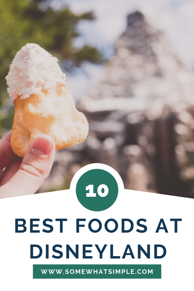 From Dole Whips to Churros and Clam Chowder in a Bread Bowl - here is the ultimate list of the best food at Disneyland and Disney's California Adventure! These 10 delicious recommendations will help make your Disney trip extra special. #bestfoodatdisneyland #thingstoeatatdisneylandcalifornia #bestfoodatdisneyscaliforniaadventure #bestdisneyfood #disneylandtips via @somewhatsimple