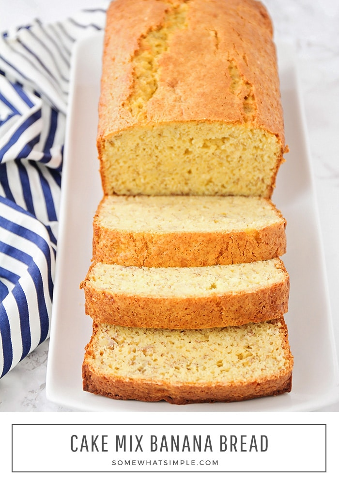Short Cut Cake Mix Banana Bread Recipe Somewhat Simple