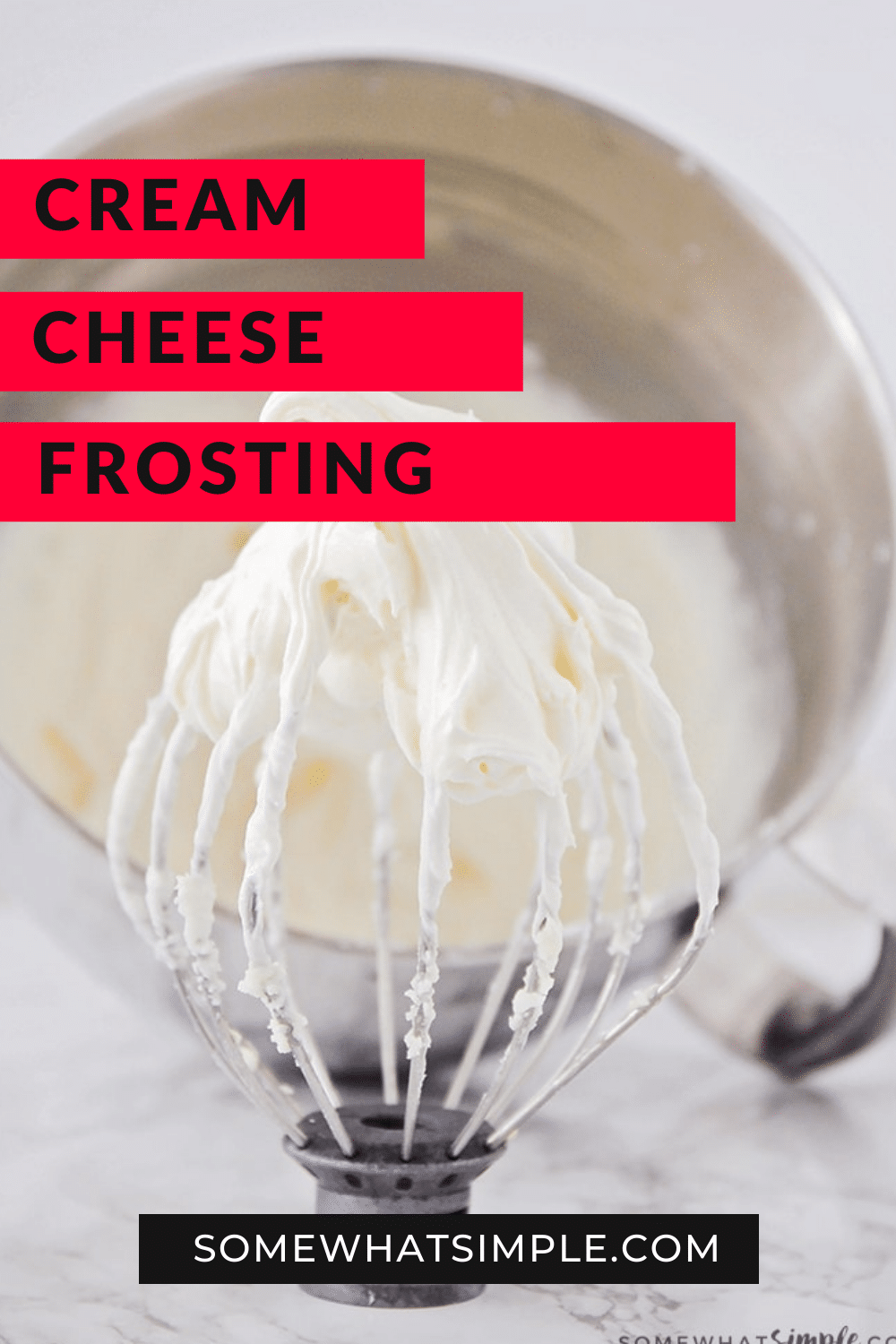 If heaven had a flavor, this would be it! This is the best cream cheese frosting recipe that is so good I'll bet it's the best you've ever had! Add it to the top of your favorite cookies and cupcakes, or whip up a batch and dive in with a spoon! This frosting recipe is perfect all year long but is especially perfect for all of your holiday baking needs! via @somewhatsimple