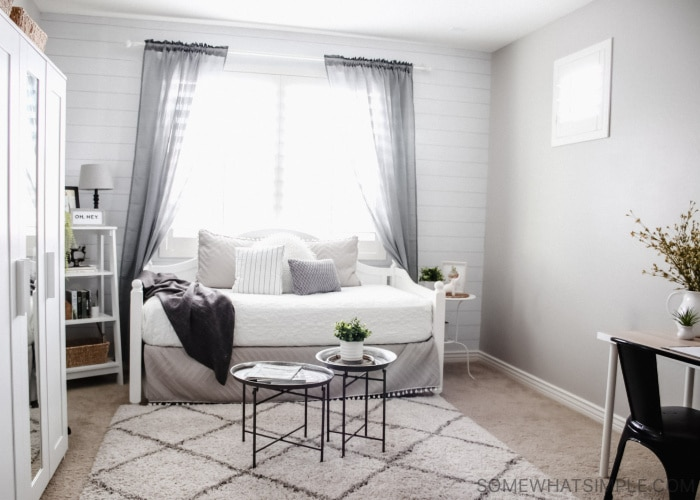 Teen Girl Bedroom - Modern Farmhouse for Leah - Somewhat Simple