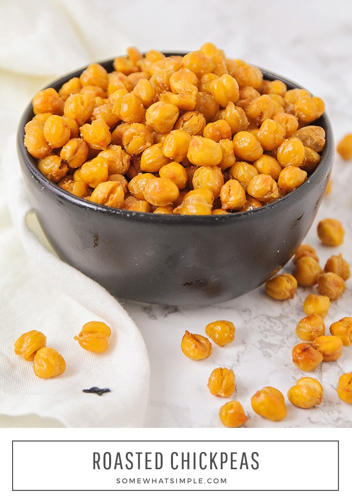 Chickpeas are an absolutely fantastic, super healthy snack.  These salt and vinegar chickpeas are roasted to perfection and simply delicious! Ready in under an hour, this chickpeas recipe is super easy to make! 