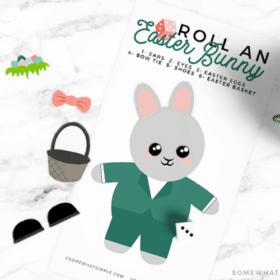 a printable easter bunny game