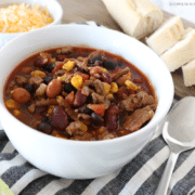 instant pot turkey chili