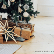 best gift ideas wrapped and under a christmas tree