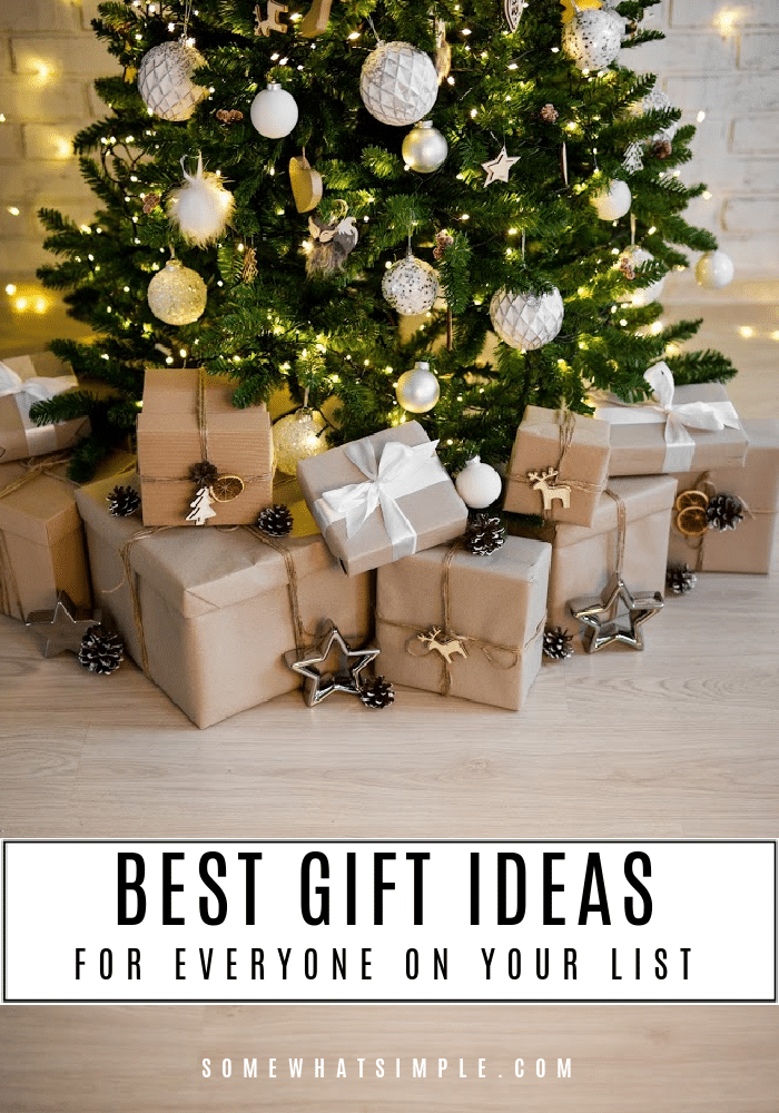 We've made a list and checked it twice, it's time to shop for all things nice! Take a look at our holiday gift guide for the best gift ideas for everyone on your list from Walmart.Com via @somewhatsimple