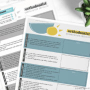printable checklist to find an orthodontist
