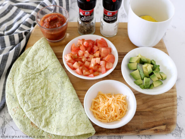 how to make a breakfast wrap