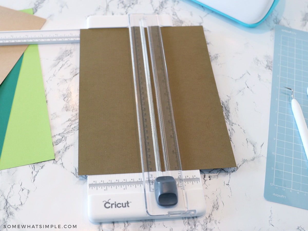 cutting cardstock to fit cricut machine