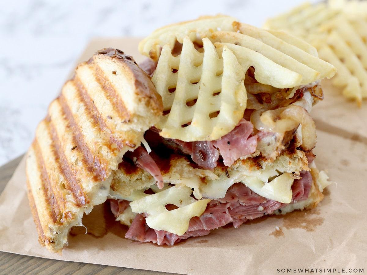 loaded Pastrami Sandwich recipe