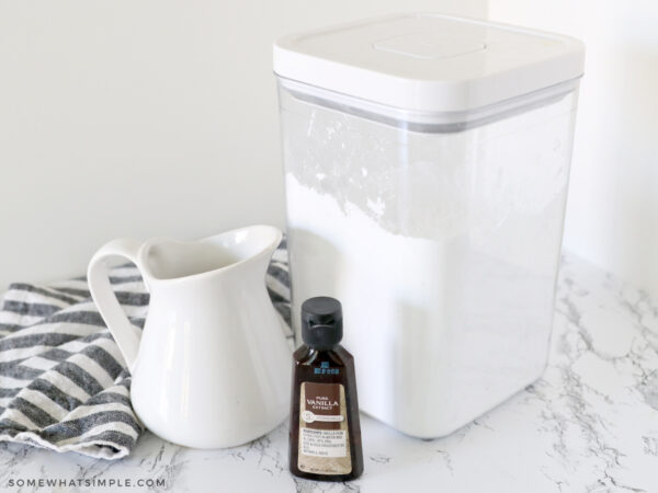 ingredients for simple glaze recipe