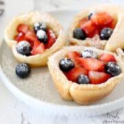 mini dutch baby pancakse