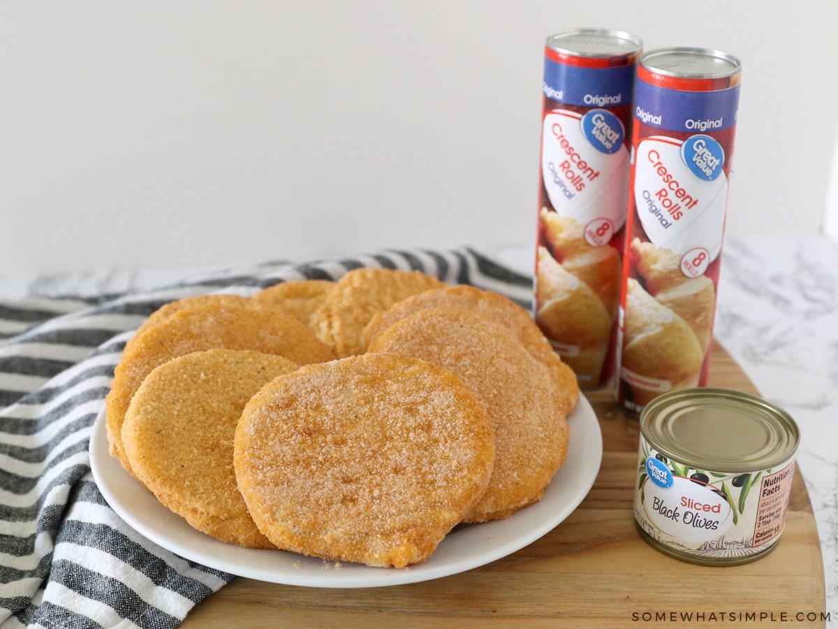 ingredients to make mummy chicken parmesan