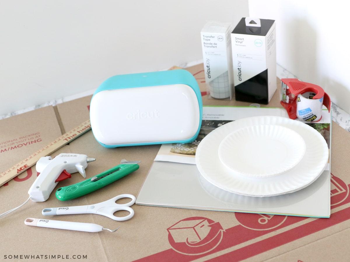 supplies needed to make cardboard car