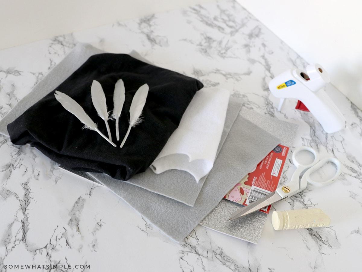 supplies needed to make a superhero costume