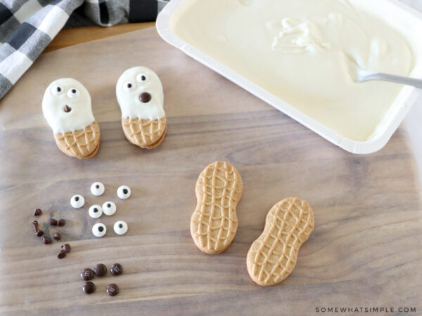 how to make ghost cookies